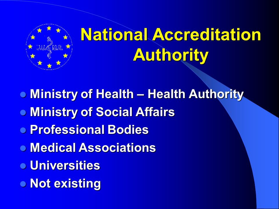 National Accreditation Authority