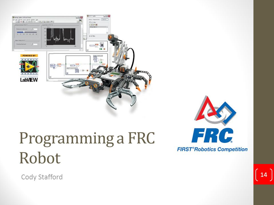 Programming a FRC Robot
