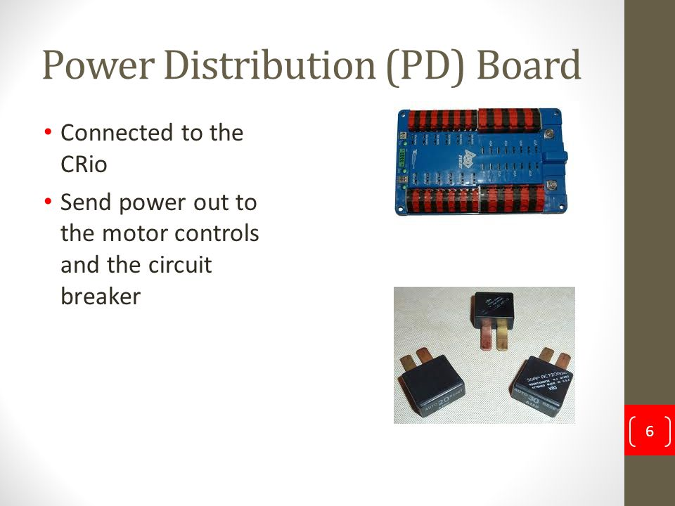 Power Distribution (PD) Board