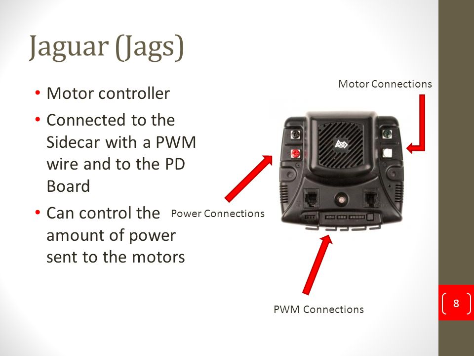 Jaguar (Jags) Motor controller