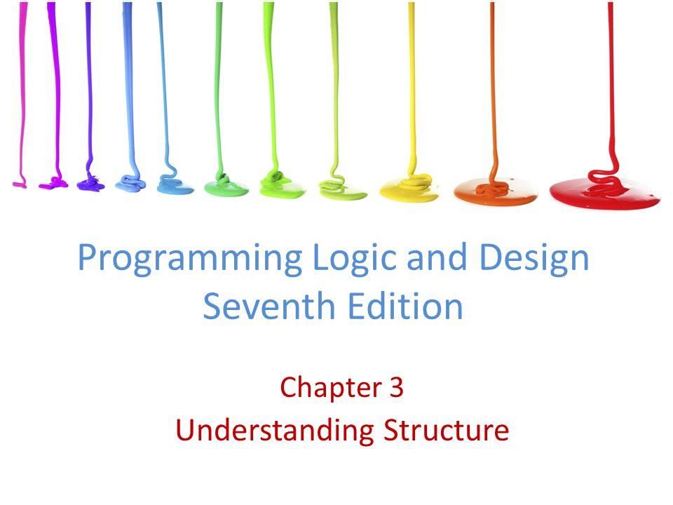 Programming Logic and Design Seventh Edition