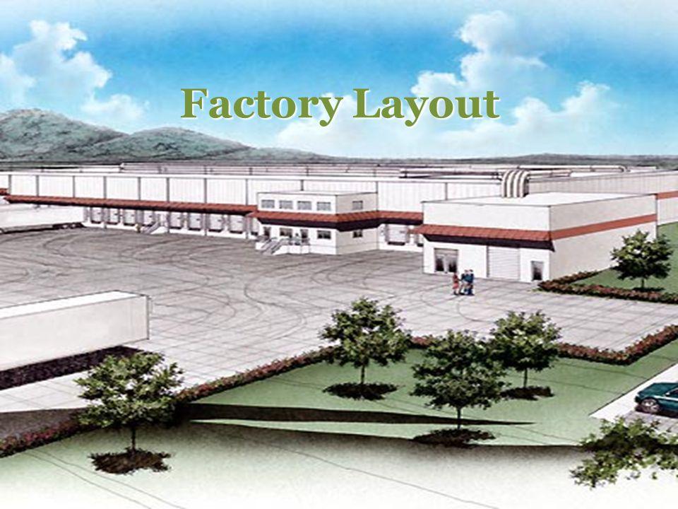 Factory Layout 食品工厂设计