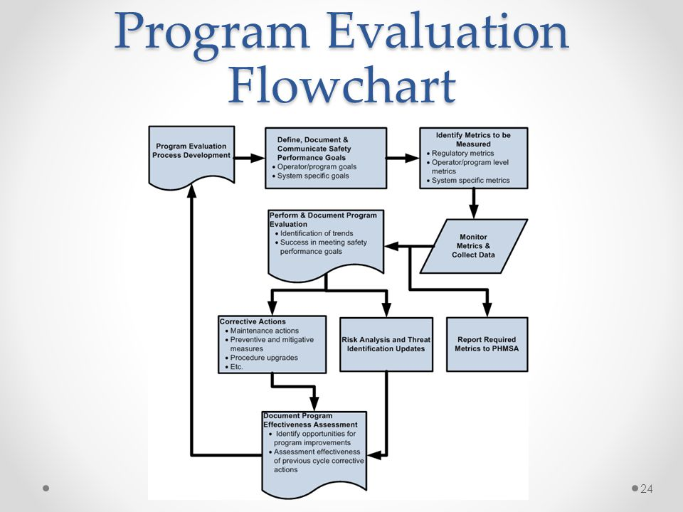 Program Evaluation Flowchart