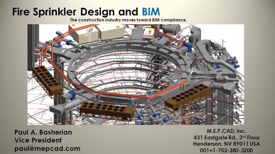 Fire Sprinkler Design and BIM
