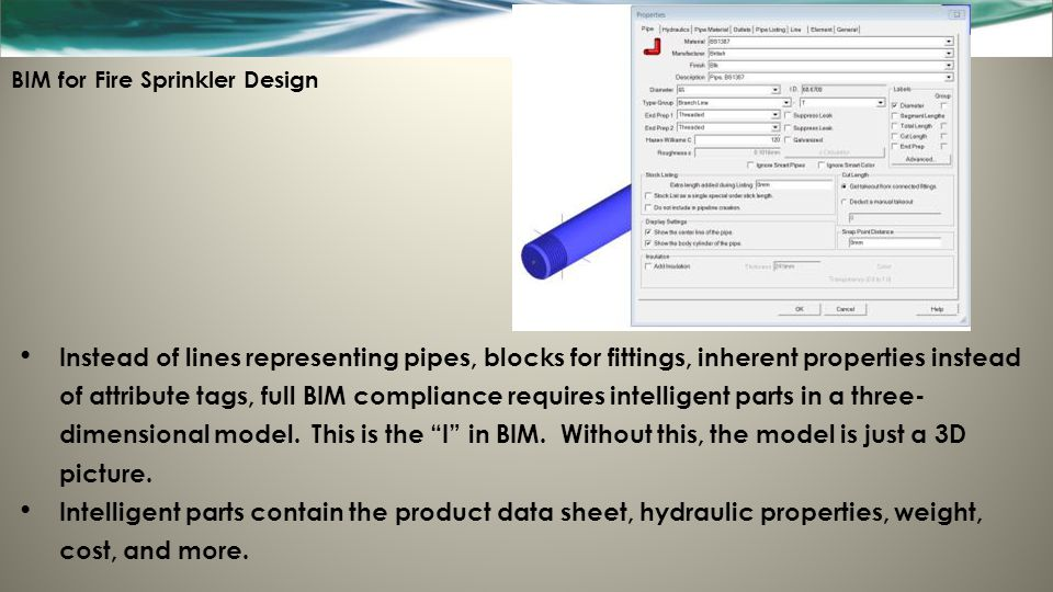 BIM for Fire Sprinkler Design