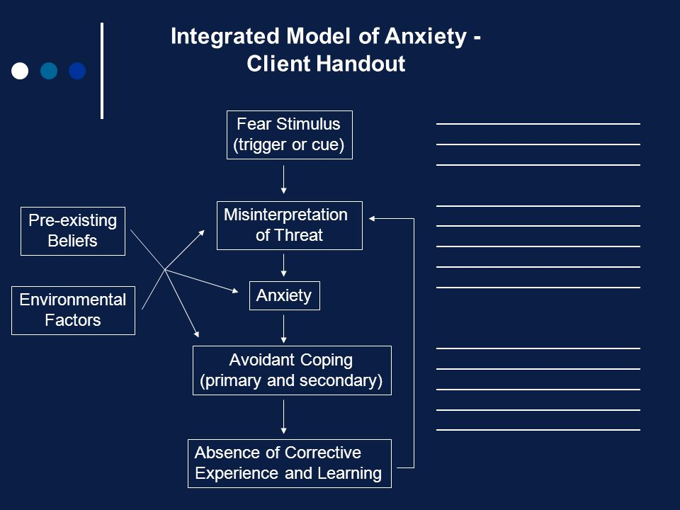 Integrated Model of Anxiety -