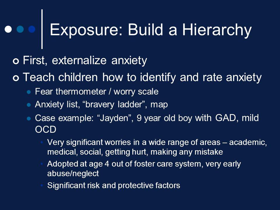 Exposure: Build a Hierarchy