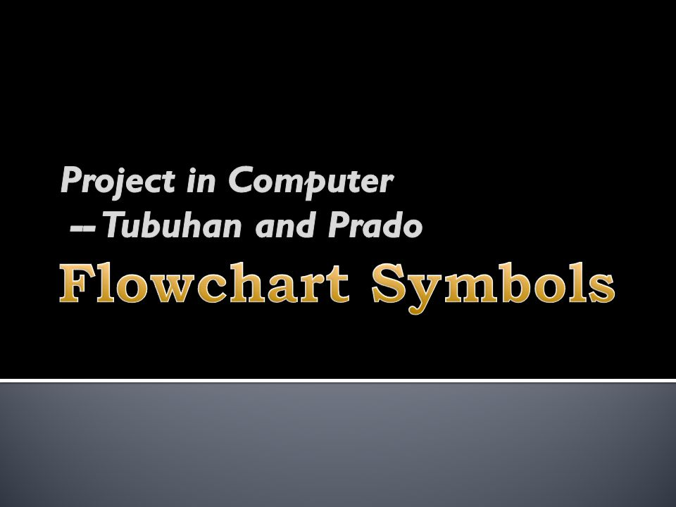 Project in Computer -- Tubuhan and Prado