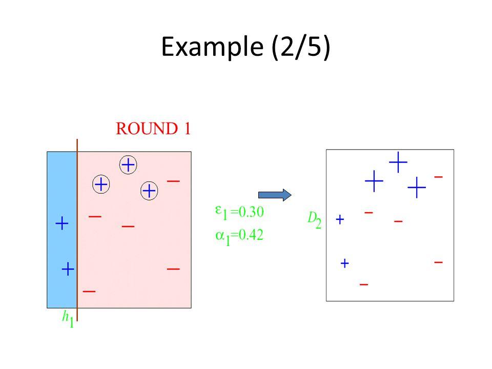 Example (2/5) ROUND 1