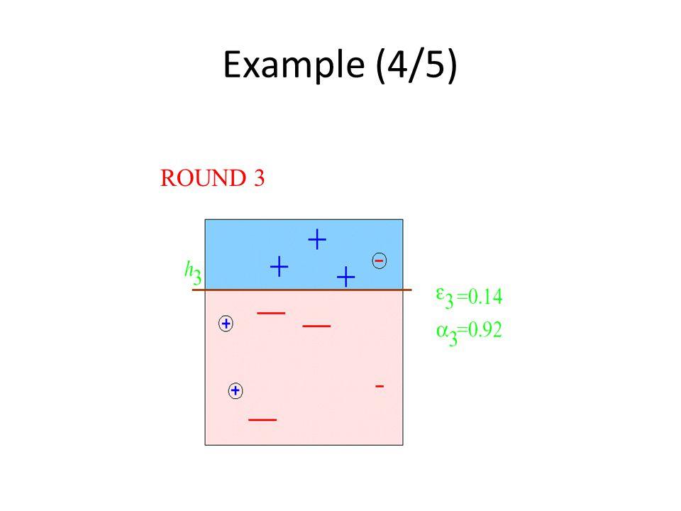 Example (4/5) ROUND 3