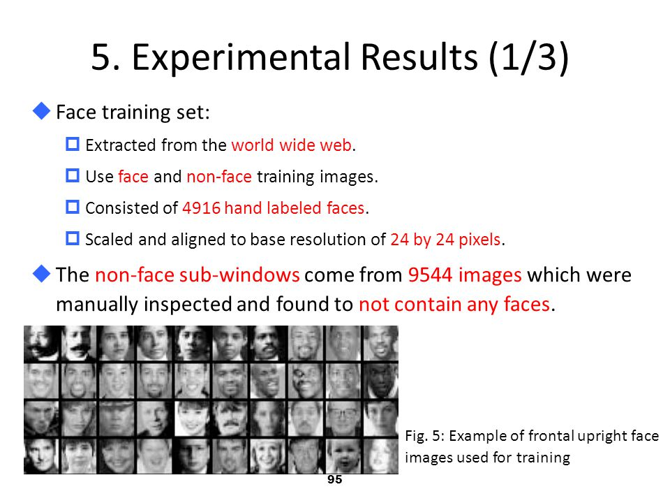 5. Experimental Results (1/3)