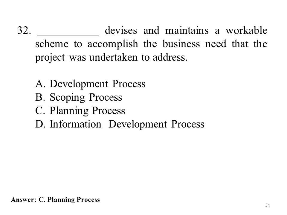 Information Development Process