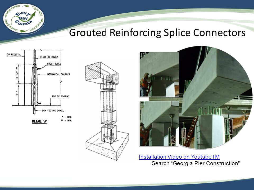 Grouted Reinforcing Splice Connectors