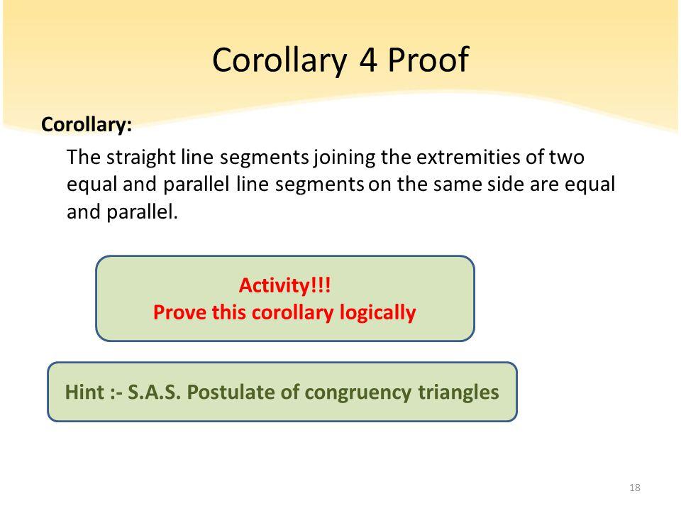 Corollary 4 Proof