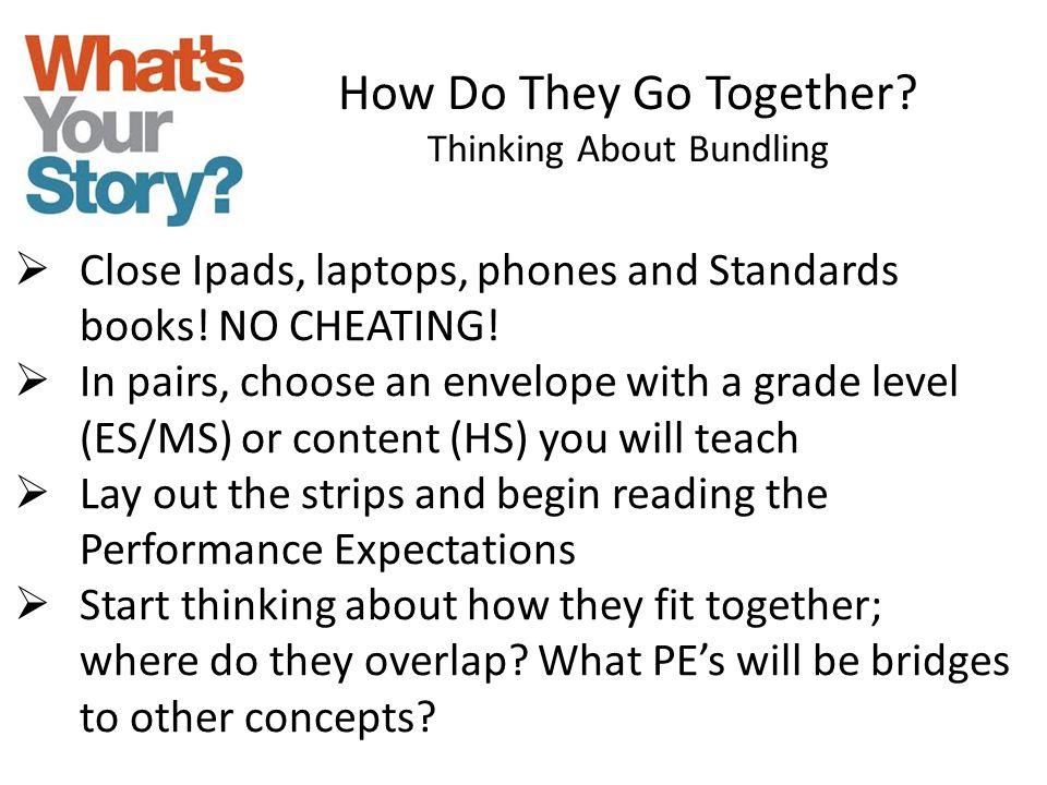 Thinking About Bundling