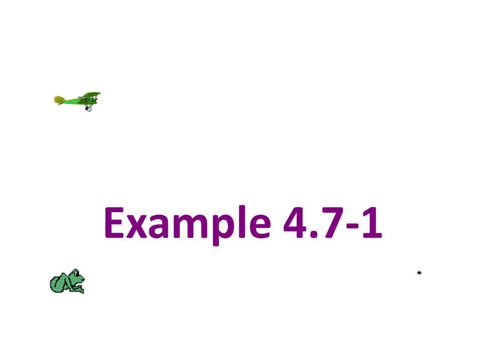 Example 4.7-1