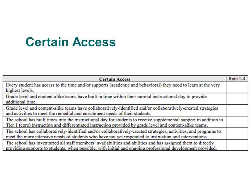 Certain Access