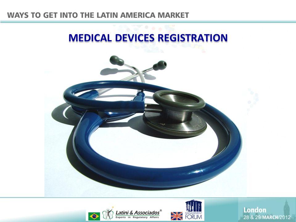 MEDICAL DEVICES REGISTRATION