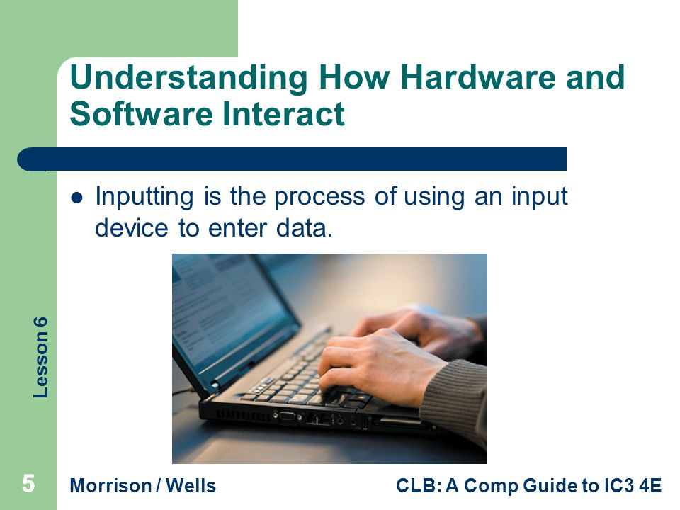 Understanding How Hardware and Software Interact