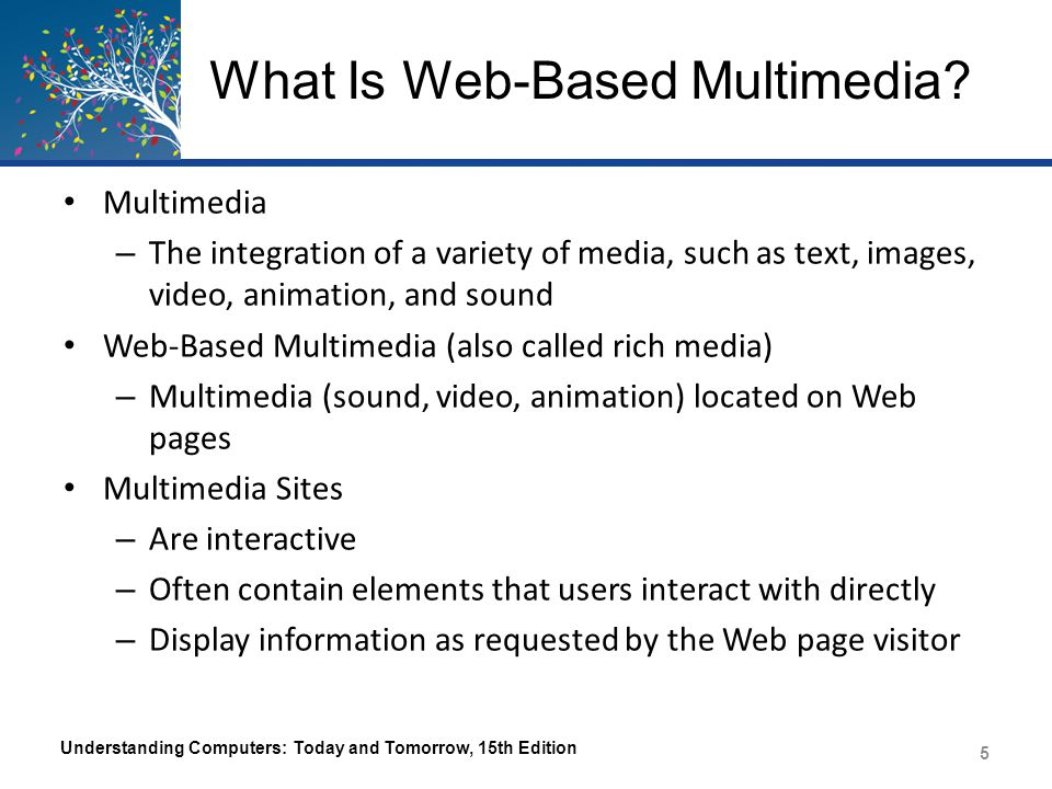 What Is Web-Based Multimedia