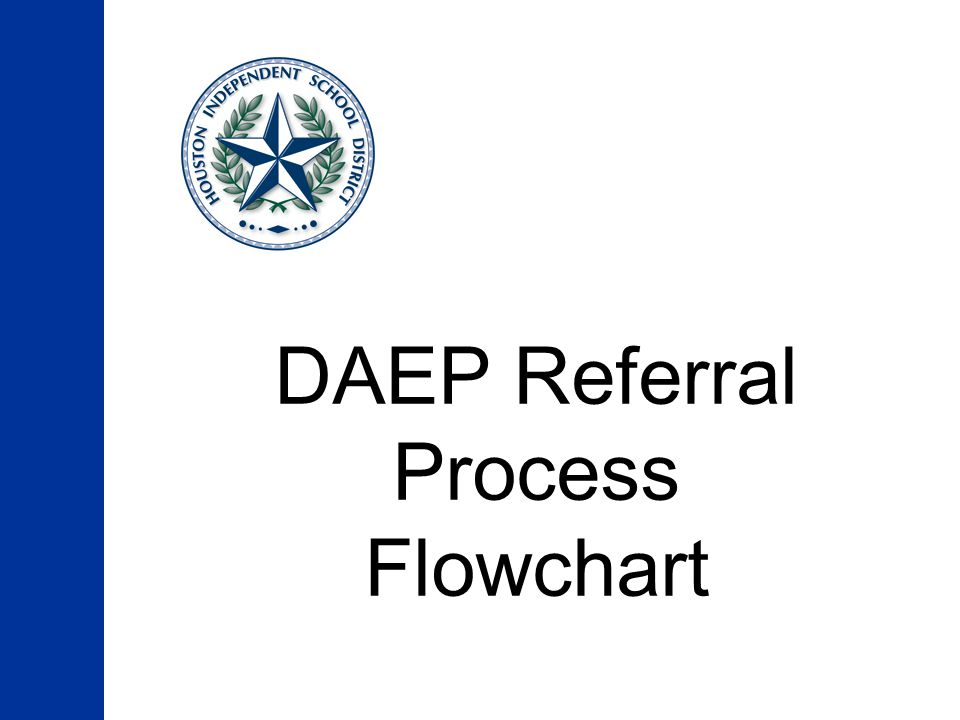 DAEP Referral Process Flowchart