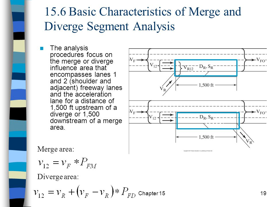 15.6 Basic Characteristics of Merge and Diverge Segment Analysis