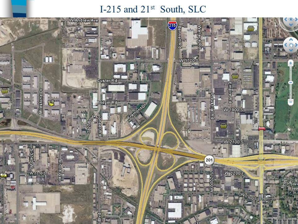 I-215 and 21st South, SLC Chapter 15