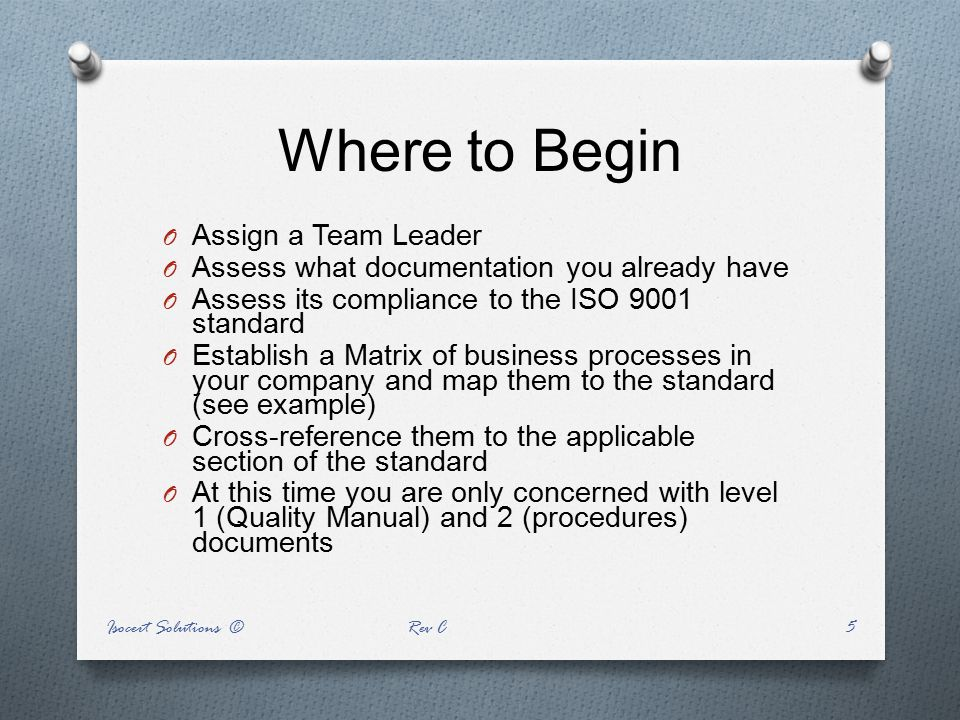 Where to Begin Assign a Team Leader