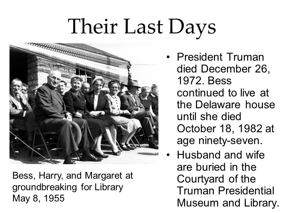 Their Last Days