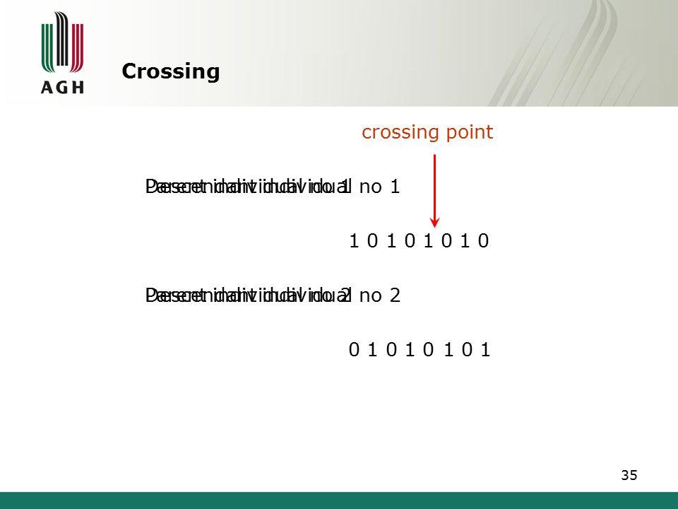 Crossing crossing point Descendant individual no 1 0 1 0