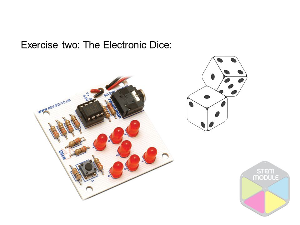Exercise two: The Electronic Dice: