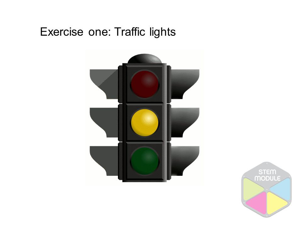 Exercise one: Traffic lights