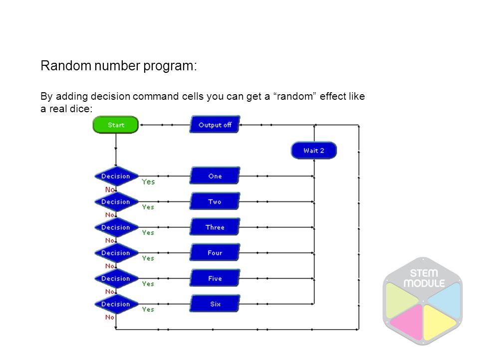 Random number program: