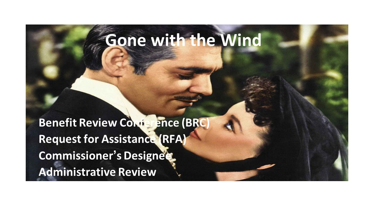 Gone with the Wind Benefit Review Conference (BRC)