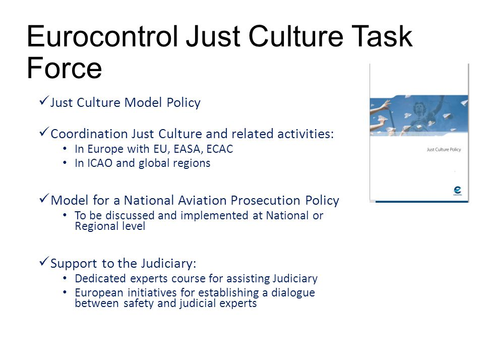 Eurocontrol Just Culture Task Force