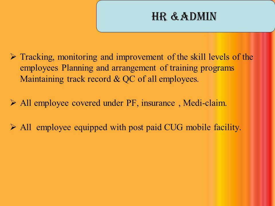 HR &Admin