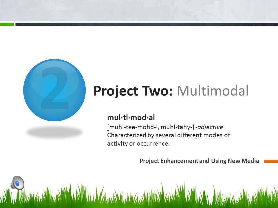 Project Two: Multimodal