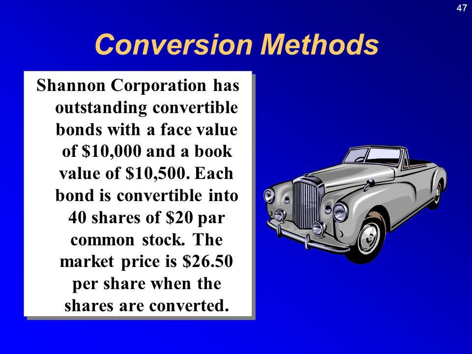 Conversion Methods