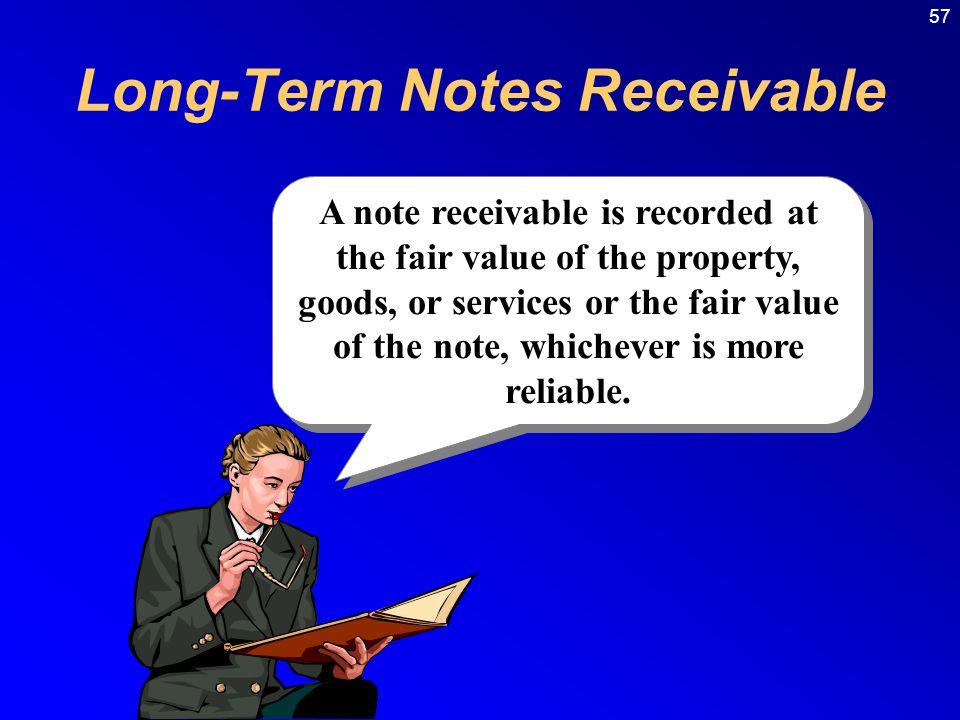 Long-Term Notes Receivable
