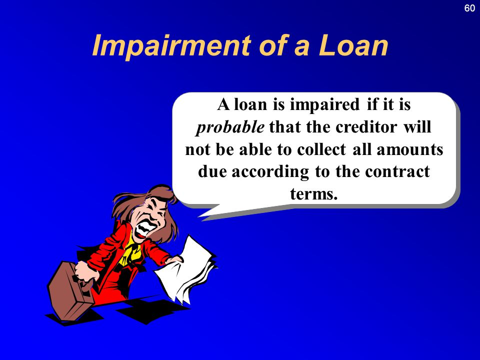 Impairment of a Loan