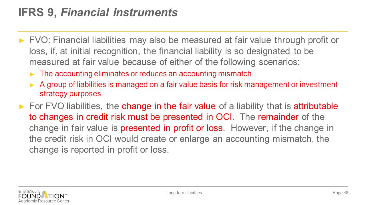 IFRS 9, Financial Instruments