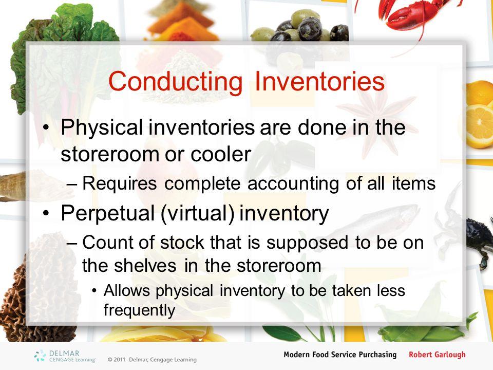 Conducting Inventories