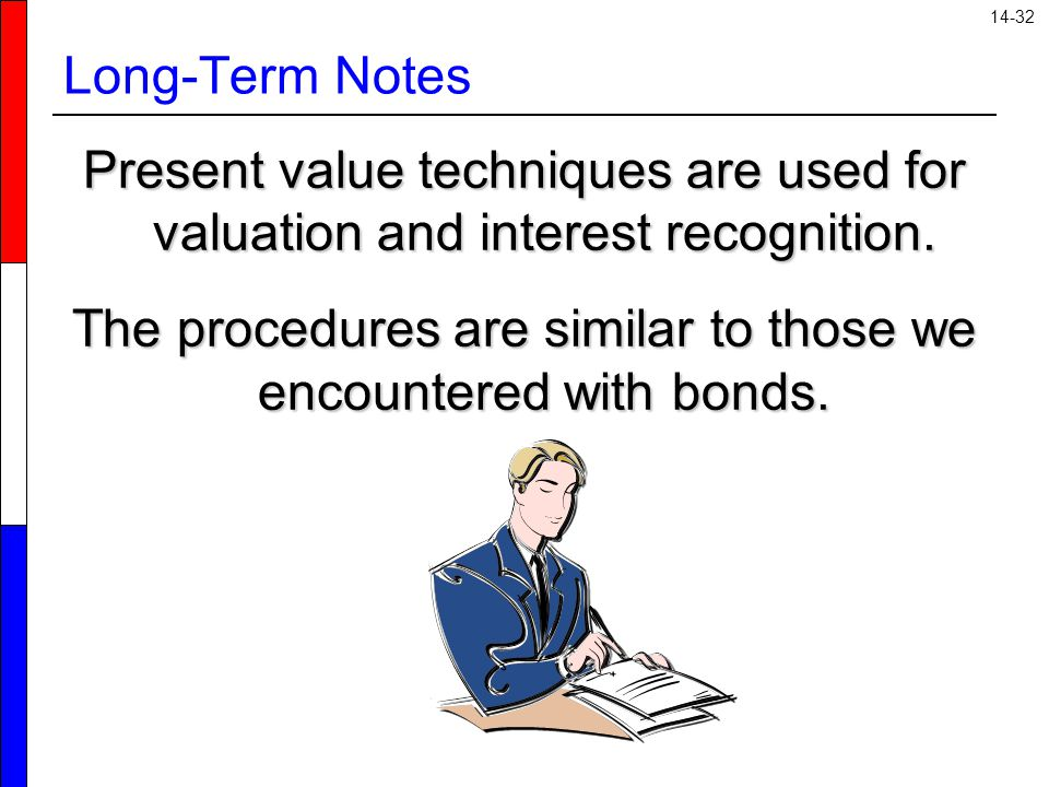 The procedures are similar to those we encountered with bonds.