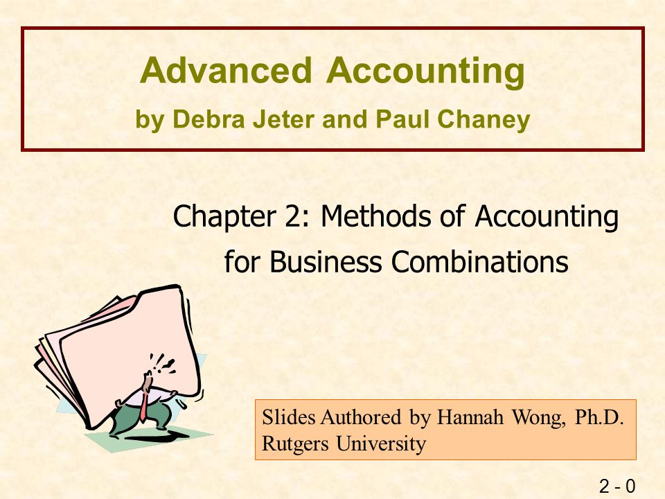 Accounting Methods for Business Combinations
