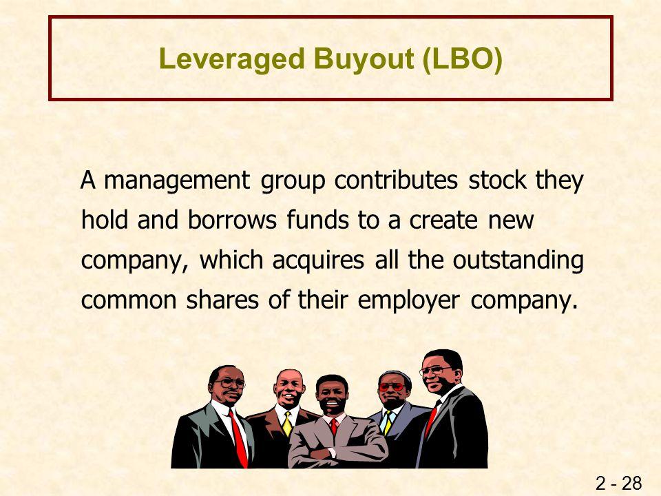 Leveraged Buyout (LBO)