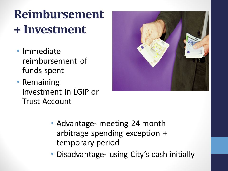 Reimbursement + Investment