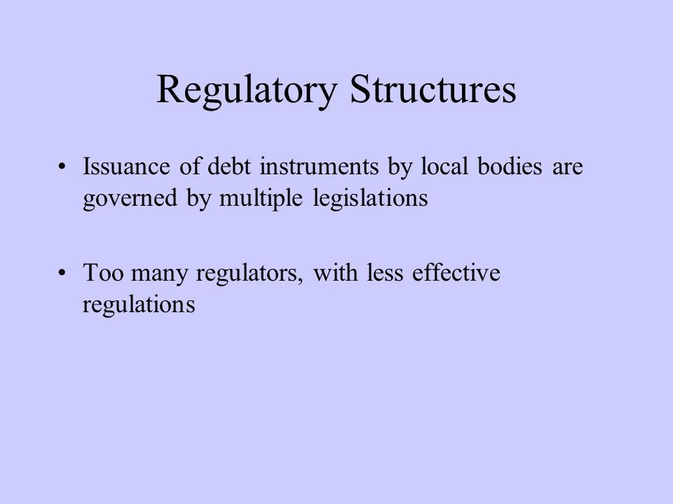 Regulatory Structures