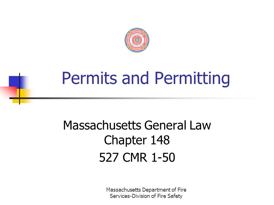 Permits and Permitting