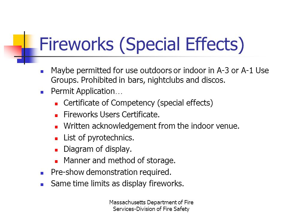 Fireworks (Special Effects)
