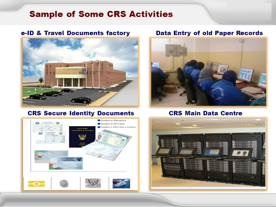 Sample of Some CRS Activities